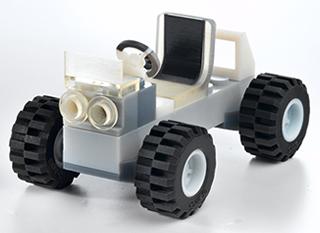 Car - 2K Teil gefertigt mit Objet Drucker